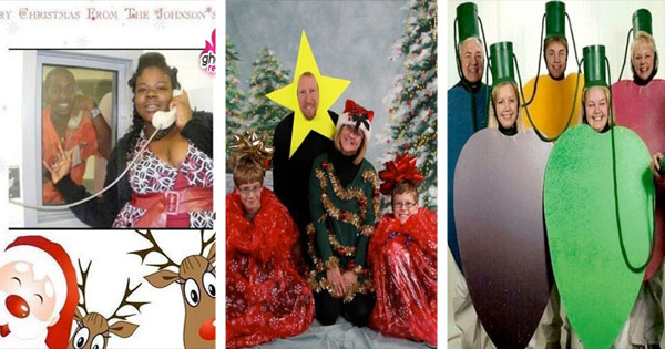 Walmart Called...Your Freaky Family Christmas Card Photos Are ...