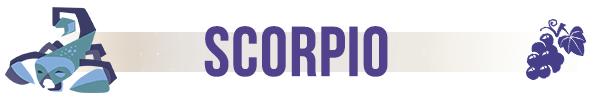 scorpio food